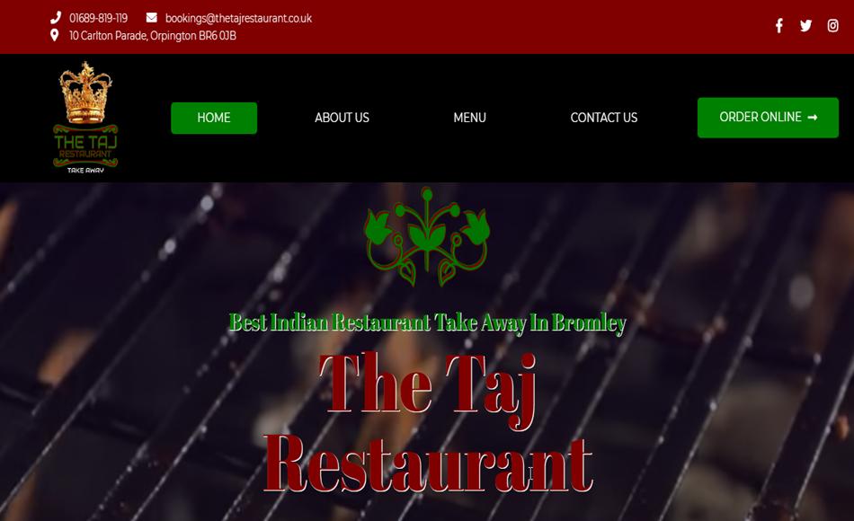 The Taj Restaurant Main 950x580